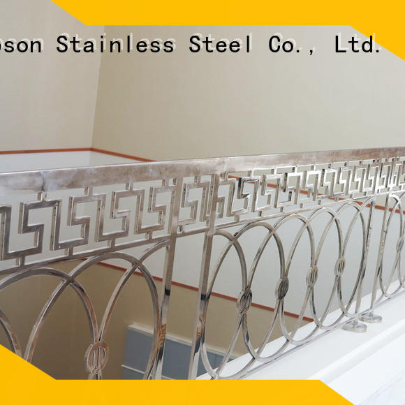 stainless steel cable handrail railing for tower Topson