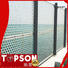 Topson steel perforated screen panels company for exterior decoration
