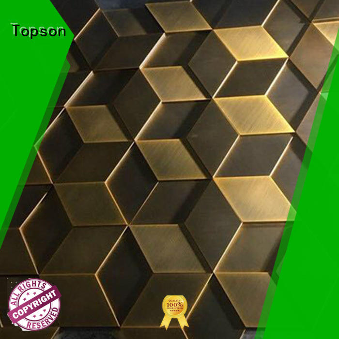 Topson high quality architectural metal fabrication factory for elevator