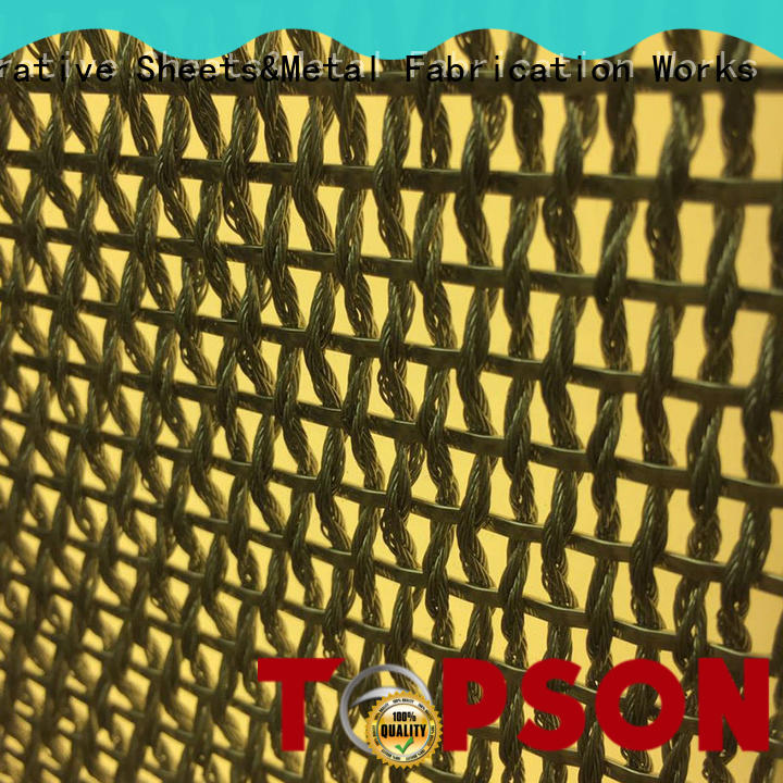 Topson durable metal screen in china for exterior decoration