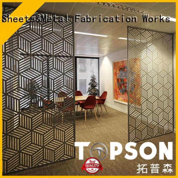 Topson special design perforated metal screen screen for landscape architecture