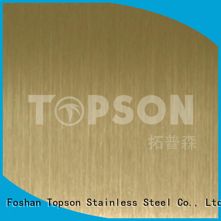 Topson Best stainless steel etching sheet for furniture