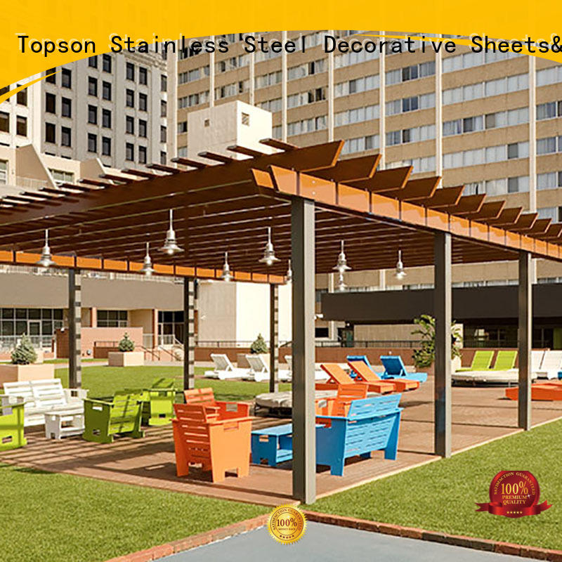 Latest aluminium pergola frame coated Suppliers for backyard