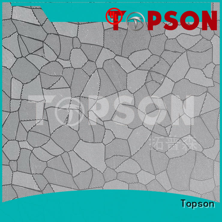 Topson antique stainless steel sheet metal for sale China for furniture