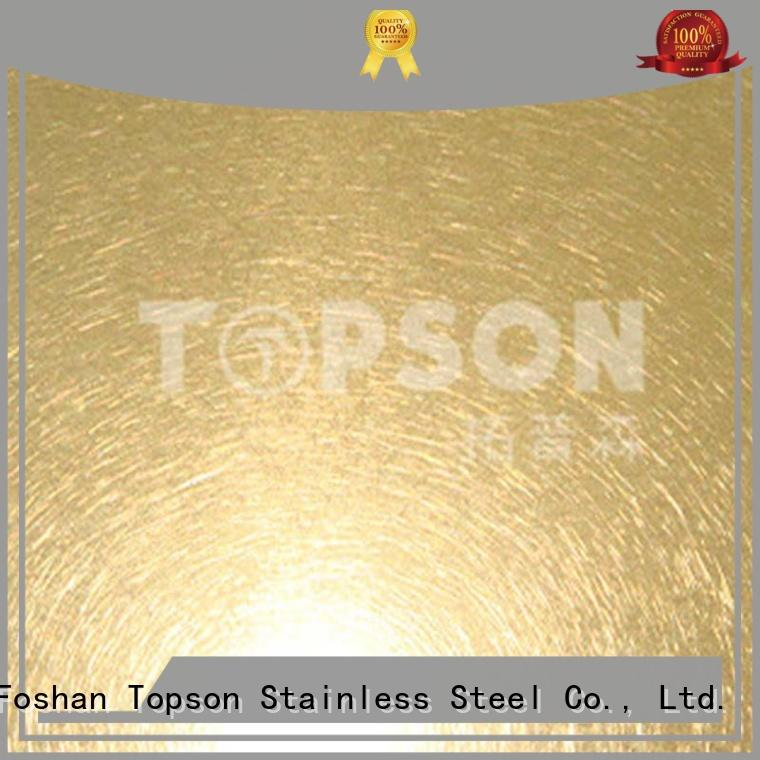 Topson colorful mirror stainless steel sheet security for vanity cabinet decoration
