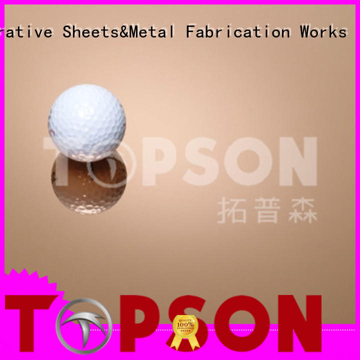 Topson embossed stainless steel sheet prices for kitchen