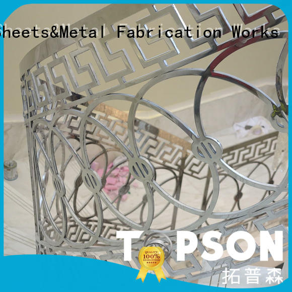 Topson Latest stainless steel handrail systems Suppliers for building