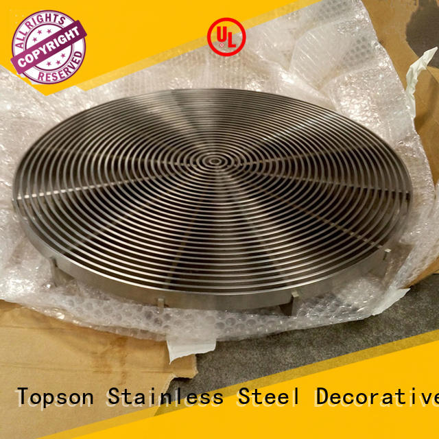 Wholesale metal plank grating grating factory for hotel