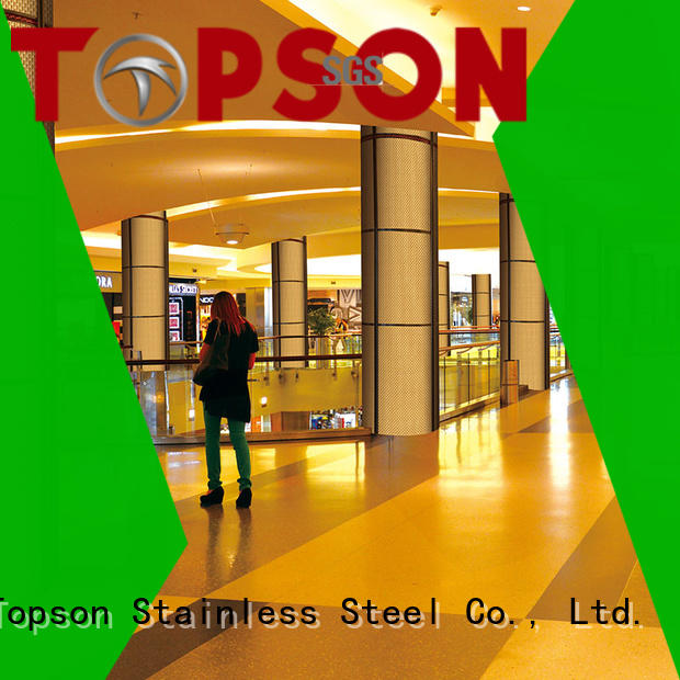 cost-effective stainless cladding column for lift