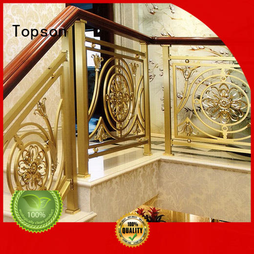 Topson high-tech stainless steel railing price for business