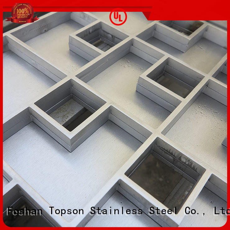 Topson inspection stainless drain cover company for bridge corridor for area building
