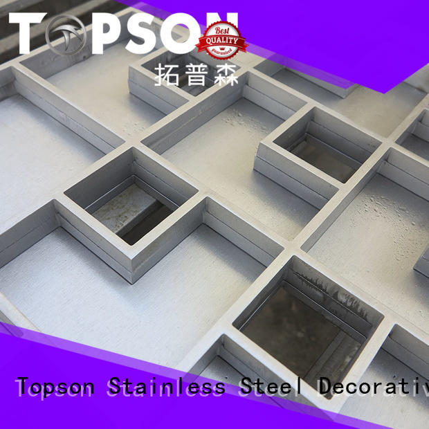 Topson tray custom metal fabrication industry for apartment
