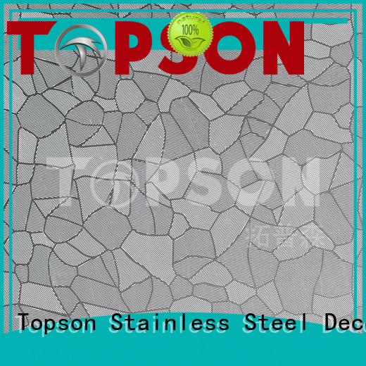 material mirror stainless steel sheet suppliers effectively for furniture Topson