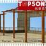 Topson fixed aluminium pergola frame manufacturers for backyard