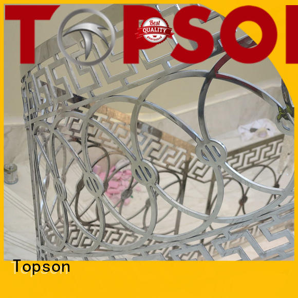 stainless steel guardrail systems stainless for tower Topson