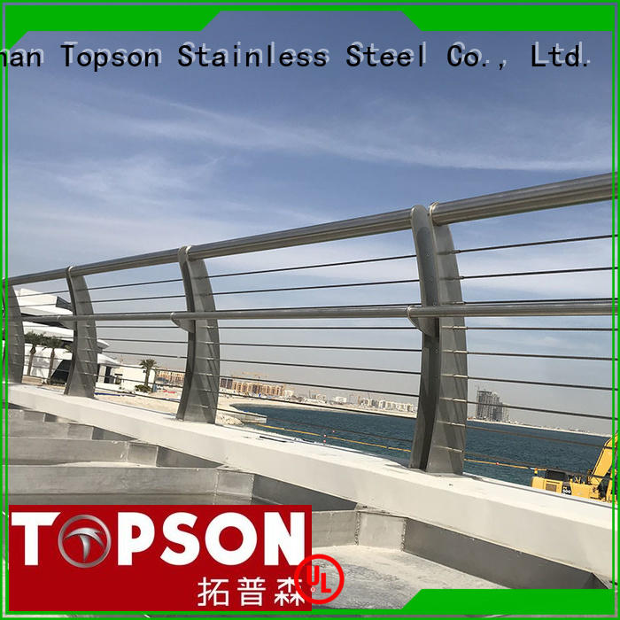 Topson railingsstainless stainless steel indoor railings for tower