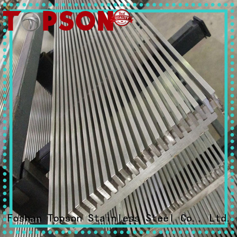 Topson Wholesale riveted grating Supply for office