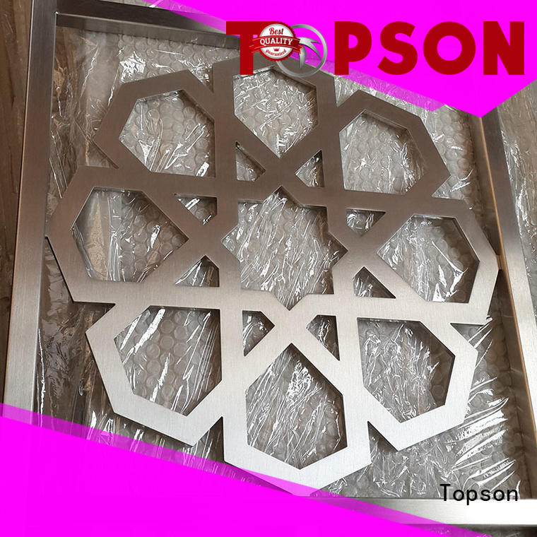 Topson good design decorative metal screen panels screendecorative for protection