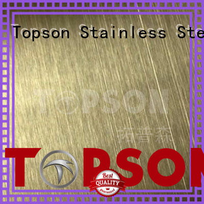 stockists stainless steel sheet prices calibration for vanity cabinet decoration Topson