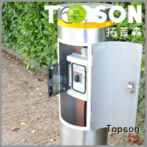 Topson stainless stainless bollards package for tower