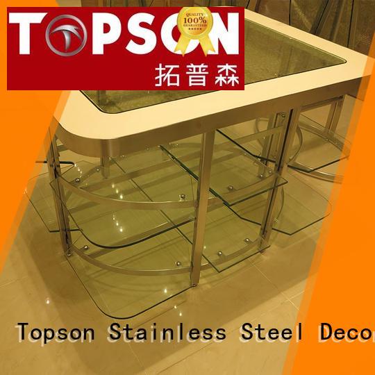 Topson steel metal frame furniture workshops for outdoor