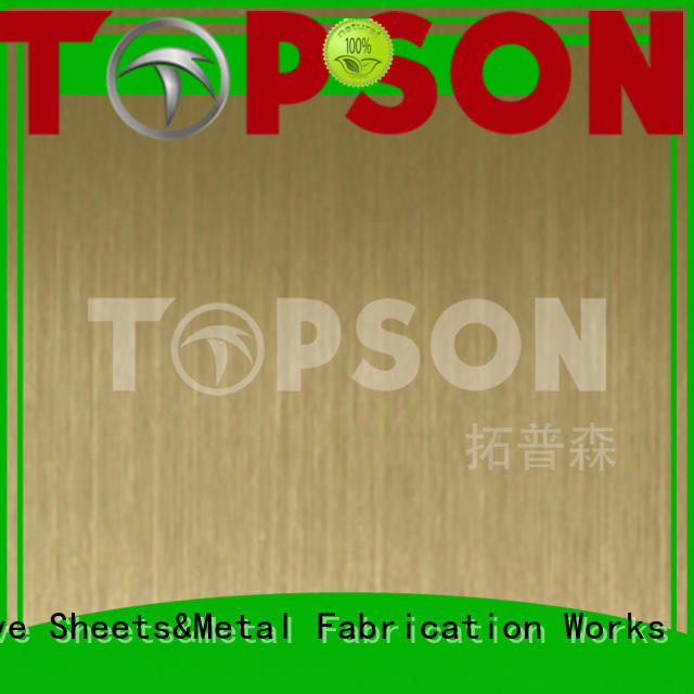 widely used brushed stainless steel sheet decorative manufacturers for partition screens