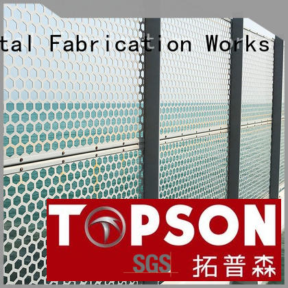 Topson Wholesale internal decorative screens factory for building faced