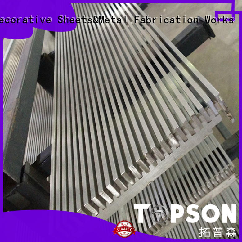 gratingexpanded stainless steel grating application for apartment Topson