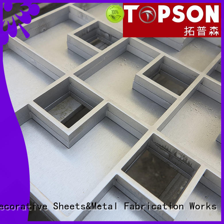 high-quality custom metal fabrication inspection type for hotel