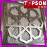 Topson metal screen panels from china for landscape architecture