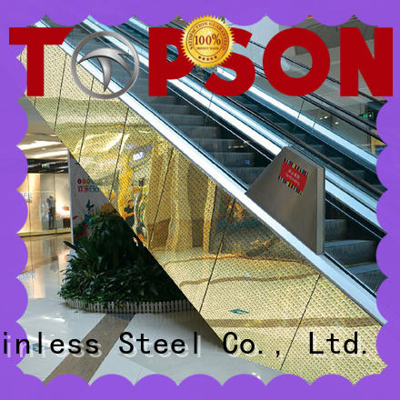 Topson steel metal cladding improvement for wall