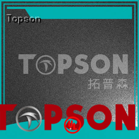 Topson sheetdecorative stainless sheet metal speed for interior wall decoration