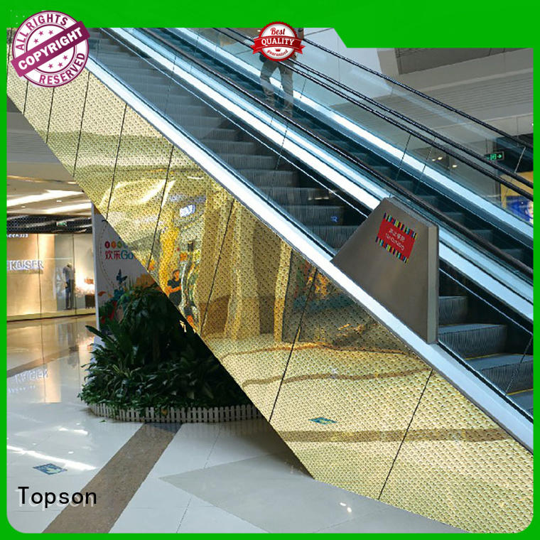 Topson elevator metal cladding Supply for lift