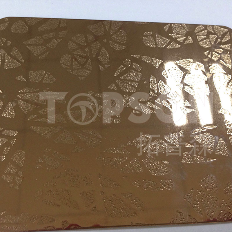 Topson stable bead blasted stainless steel color for furniture-stainless steel decorative sheets sup-1