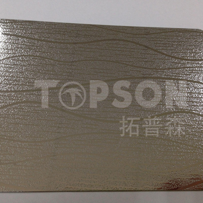 Topson stable bead blasted stainless steel color for furniture