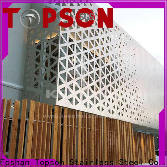 decorative metal mesh screen metal from china for curtail wall