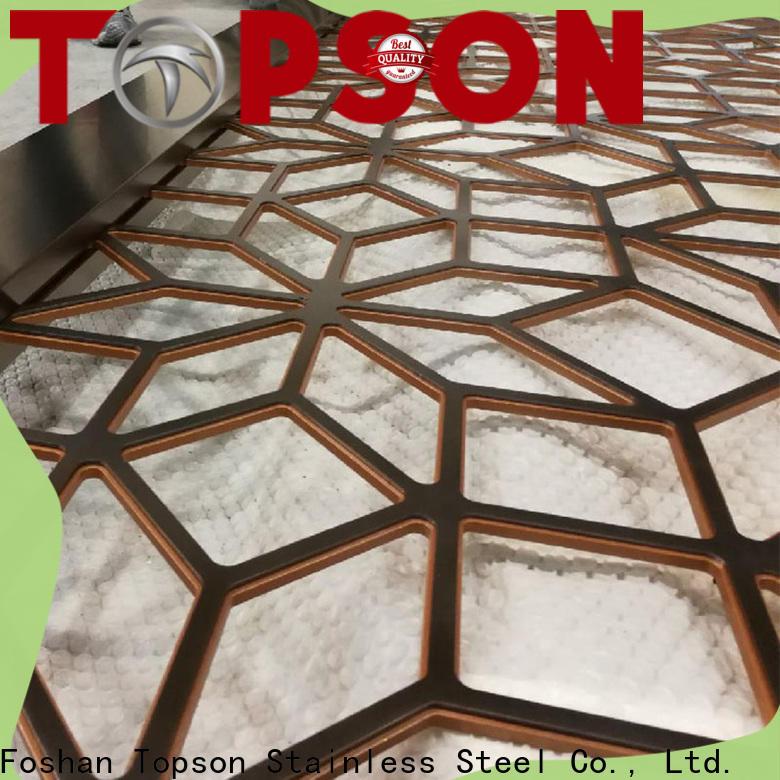 Topson stable metal mashrabiya factory for protection