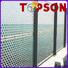 Topson chain decorative metal screen panels company for landscape architecture
