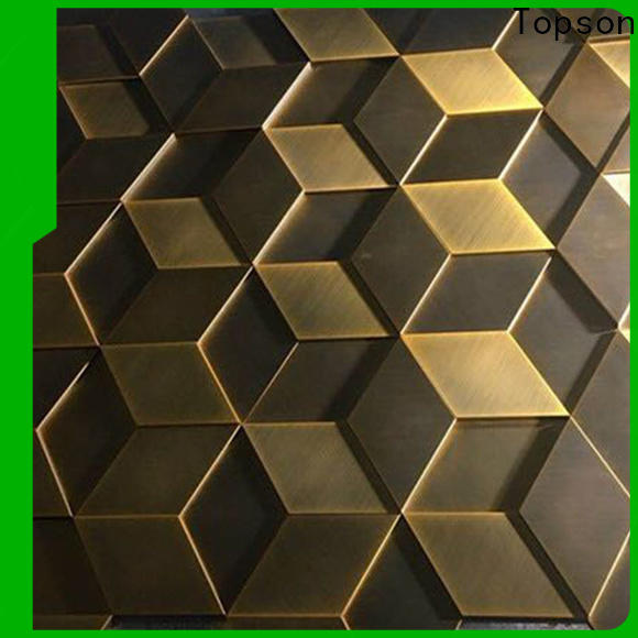 fashion design steel wall cladding panels stainless manufacturers for lift