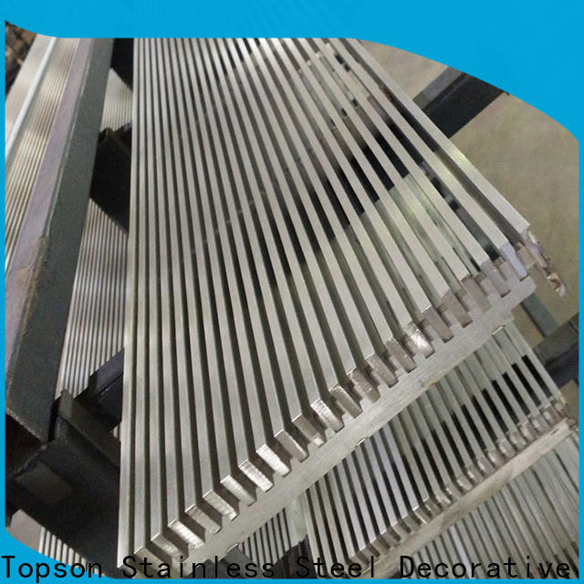 Topson cutting steel plank grating for tower