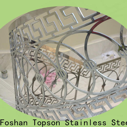 Topson staircase stainless wire railing system factory for mall