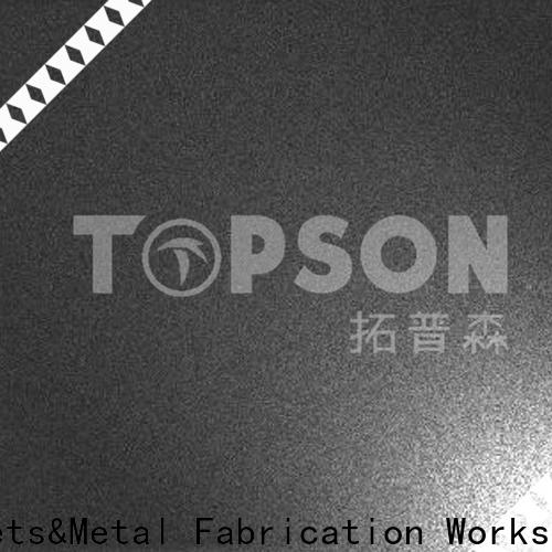 Topson raw stainless steel sheet metal Suppliers for floor