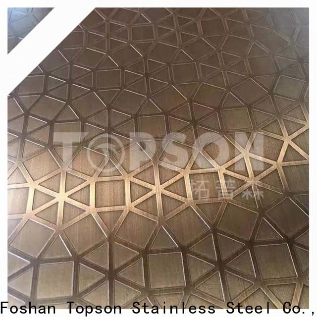 stainless steel sheet suppliers decorative for kitchen