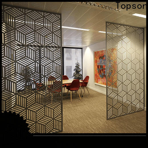 Topson perforated carved window screen for business for landscape architecture
