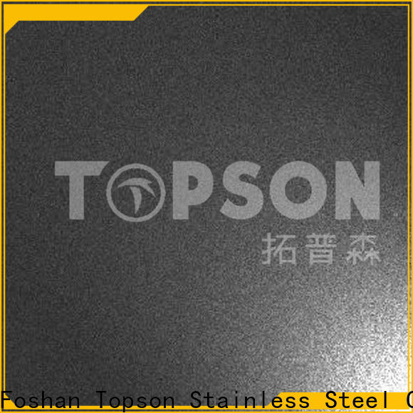 Topson brushed brushed stainless steel strip for kitchen