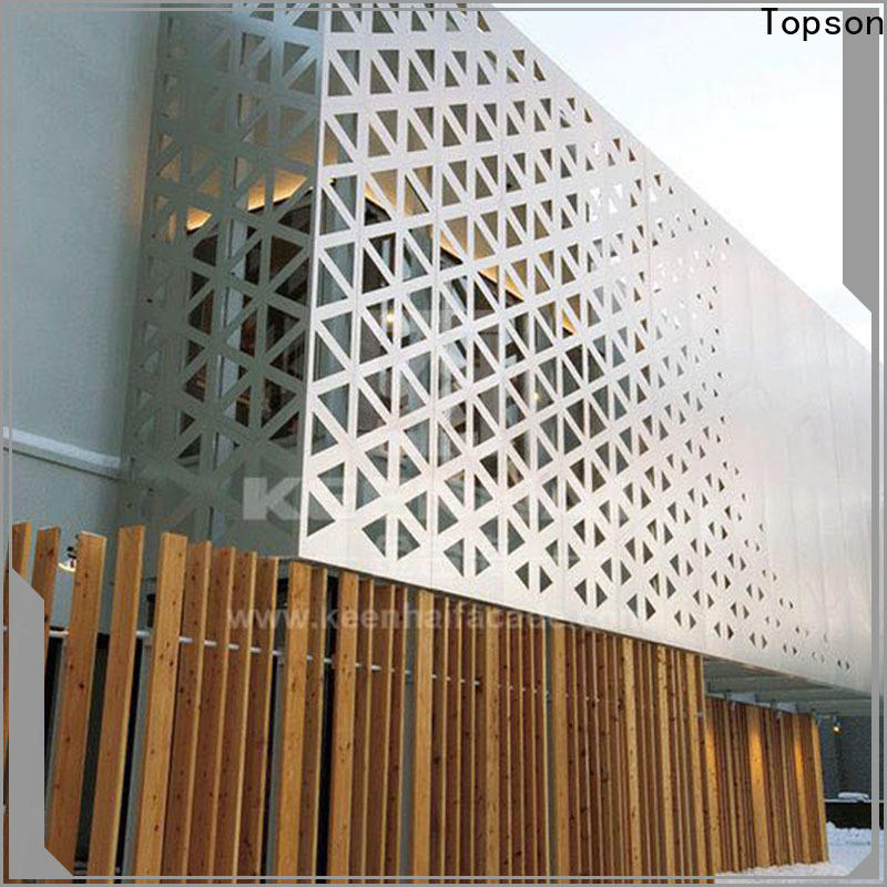 Topson decorative mashrabiya design pattern export for protection
