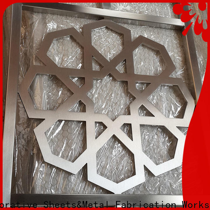 fretwork panels suppliers aluminium manufacturer for protection