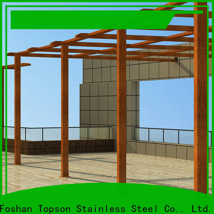 Topson frame pergolas and gazebos metal company for resort