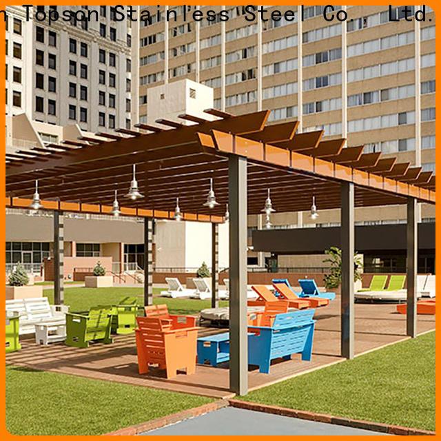 durable aluminium pergola systems aluminium Suppliers for park