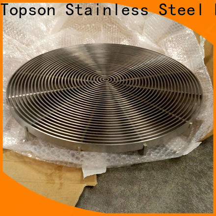 Topson cutting galvanized mesh flooring Suppliers for room